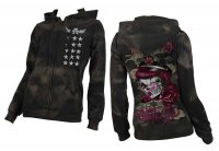 Fightin Truth AEA Svart Camo Hoodie - Alchemy