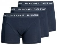 3-pak bokseshorts Jack & Jones Blue Night