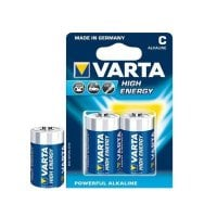 Alkaline Batteri Varta LR14 C 1,5 V High Energy (2 pcs) Blå