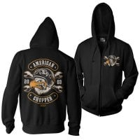 American Chopper - Cigar Eagle Zipped Hoodie 1