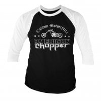 American Chopper Washed Logo baseball tee 1