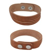 Armband cognac stripes