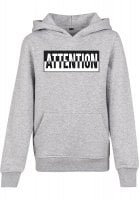 Attention hoodie børn 1