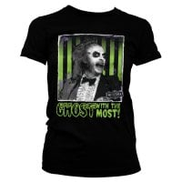 Beetlejuice - Ghost with the most T-shirt dæme