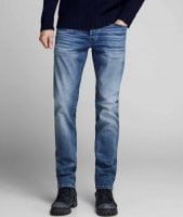 Blå jeans herre slim fit 1