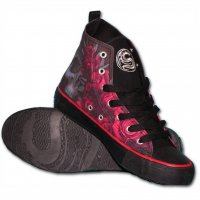 Blood rose sneakers 2
