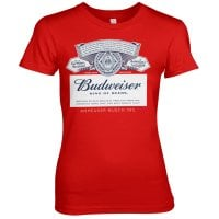 Budweiser Label Girly Tee 1