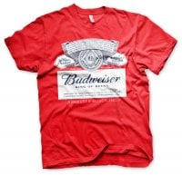 Budweiser Label T-Shirt 1