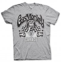 Burning Wheels Gas Monkey Garage T-shirt 2