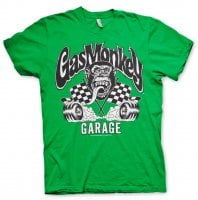 Burning Wheels Gas Monkey Garage T-shirt 3