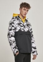 Camo Mix Pullover Jacket snow camo 1