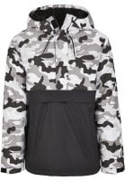 Camo Mix Pullover Jacket snow camo 3