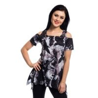 Crow lace panel top