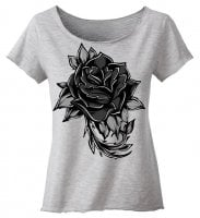 Dark rose top