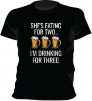 Drinking for three T-shirt 3