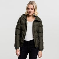 Ladies Hooded Puffer Jacket 3