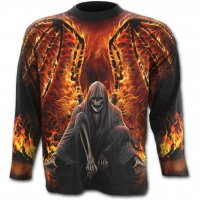 Flaming death longsleeve