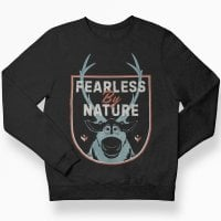 Frozen - Fearless By Nature sweatshirt børn 1