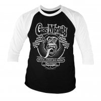 Gas Monkey flags baseball tee 3/4 sleeve.
