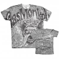 Gas Monkey Garage allover t-shirt båda sidor