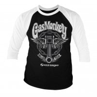 Gas Monkey Garage Baseball Longsleeve - Big Piston