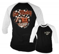 Gas Monkey Garage racing 3/4 baseball tee 1