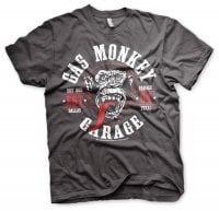 Gas Monkey Garage Round Seal t-shirt 2