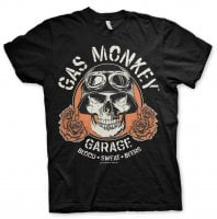 Gas Monkey Garage Skull T-Shirt 1