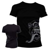 Gas Monkey Garage pige t-shirt Sidekick