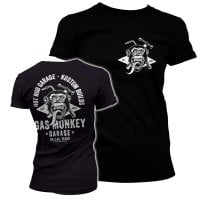 Gas Monkey torch and hammer T-shirt dæme 1