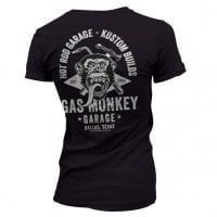 Gas Monkey torch and hammer T-shirt dæme 3