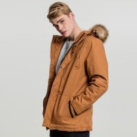 Heavy Cotton Parka toffee