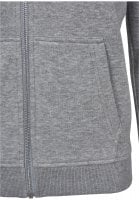 Ladies Classic Zip Hoody pocket