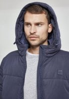 Hooded Peach Puffer Jacket