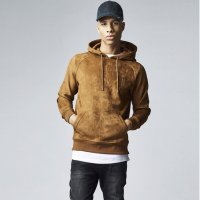 Imitation Suede Hoody