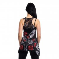 Immortal love lace panel vest 2