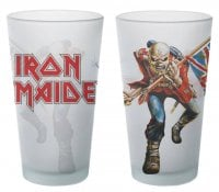 Iron Maiden Trooper pintglas 1