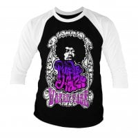 Jimi Hendrix - Purple Haze World Tour baseball 3/4 sleeve