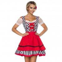 dc72bf416461 Klassisk oktoberfest dirndl kjole