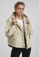 Dame jakke med kort størrelse