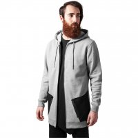 Long Peached Tech Zip Hoody 2