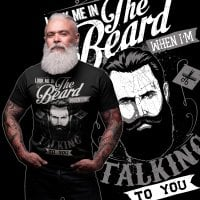 The Beard svart t-shirt