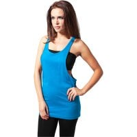 Ladies Loose Tank turquoise