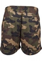 Airy camo shorts mænd wood