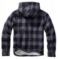 Lumberjacket hooded sort/grå 2