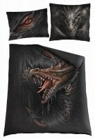 Majestic draco double duvet cover + UK And EU Pillow case.