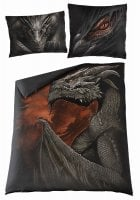 Majestic draco double duvet cover + UK And EU Pillow case. 2