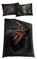 Majestic draco single duvet cover + UK And EU Pillow case 1