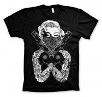 Marilyn Monroe Gangsta Pose T-Shirt