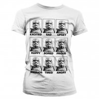 Moods Of A Stormtrooper tjej t-shirt